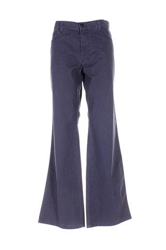 mexx pantalons homme de couleur bleu