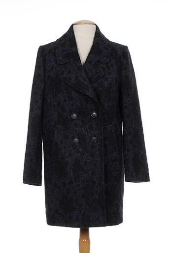 cks manteaux femme de couleur bleu