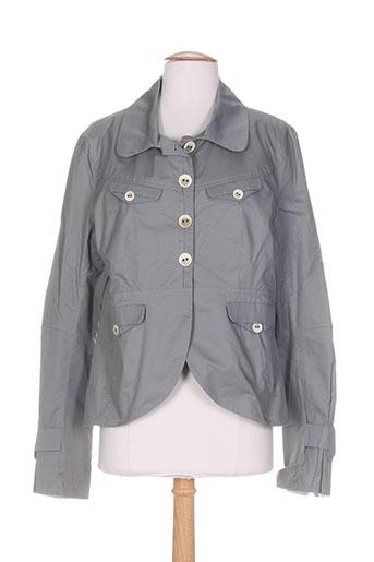 one step vestes femme de couleur gris