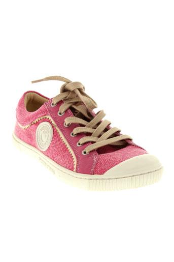 pataugas baskets femme de couleur rose