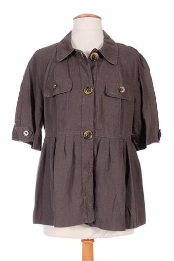 Veste casual marron BENETTON pour femme