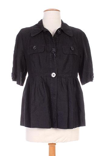 Veste casual noir BENETTON pour femme