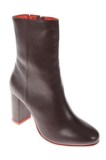 benetton chaussures femme de couleur marron