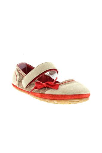 buggy chaussures fille de couleur beige