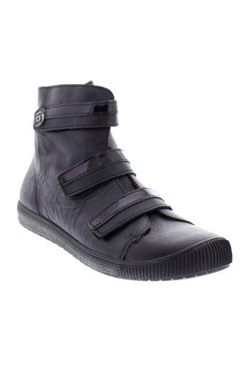 bellamy boots femme de couleur noir