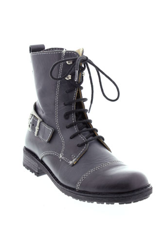 bellamy boots fille de couleur gris