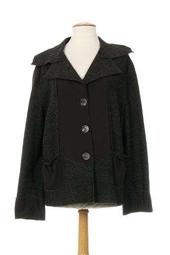 couleurs du temps vestes femme de couleur marron