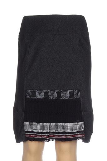 quattro jupes femme de couleur noir