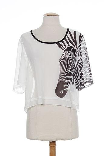 aprico chemises femme de couleur blanc