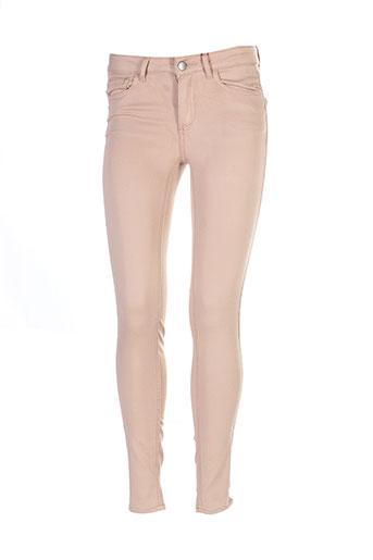 vila pantalons et decontractes femme de couleur beige