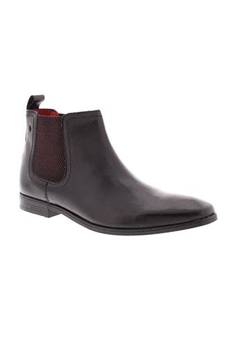 base et london boots homme de couleur noir