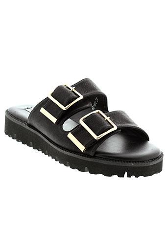francesco milano chaussures femme de couleur noir