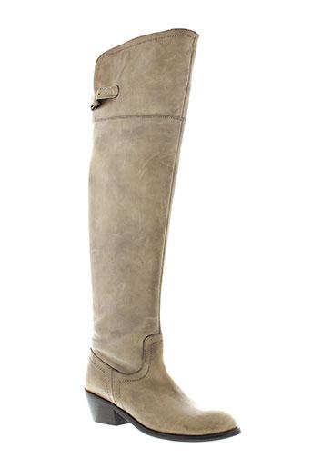 mms chaussures femme de couleur beige