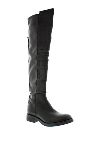 mally bottes femme de couleur noir