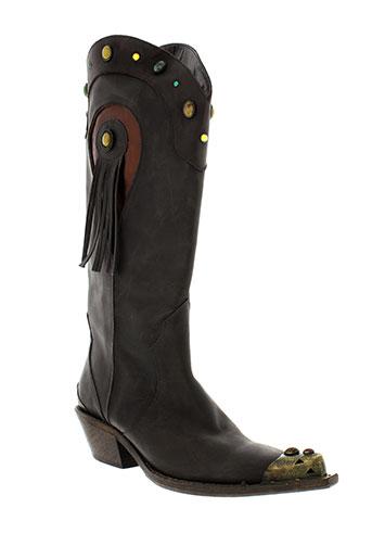 fru.it chaussures femme de couleur marron