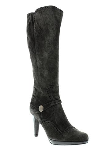 pepe et castell bottes femme de couleur gris
