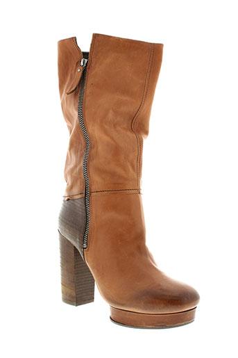 vic et matie bottes femme de couleur marron