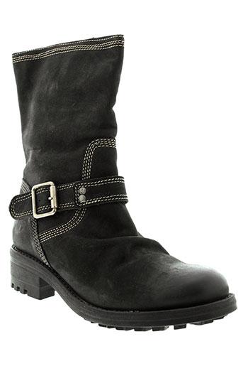 felmini boots femme de couleur noir