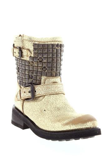 ash boots femme de couleur jaune