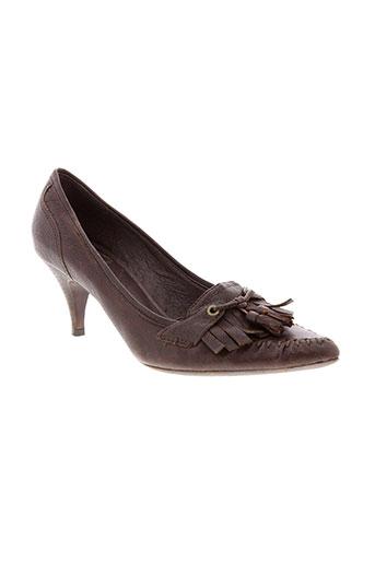 ash escarpins femme de couleur marron