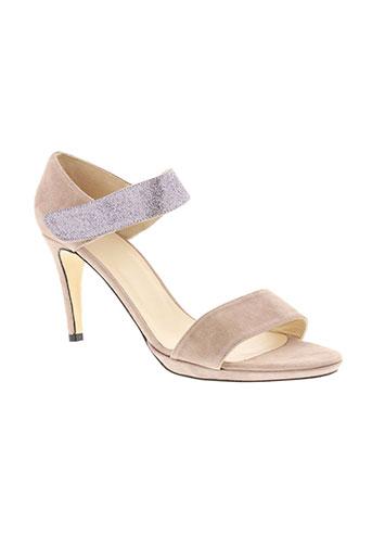 anaki chaussures femme de couleur rose