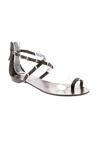 ioannis chaussures femme de couleur noir