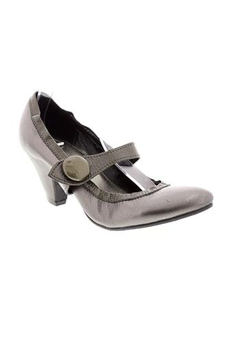 apepazza escarpins femme de couleur gris