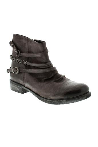 un et matin et d et ete boots femme de couleur marron