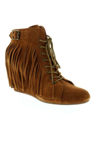 no et name boots femme de couleur marron