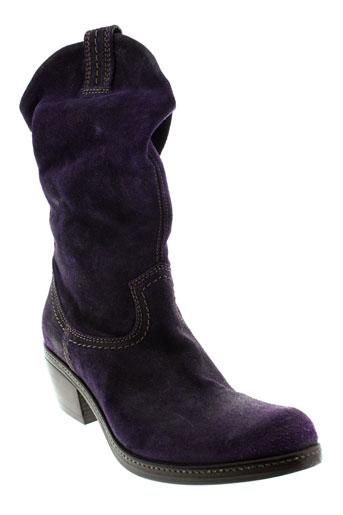 vic et matie boots femme de couleur violet
