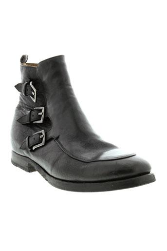 sartori et gold boots femme de couleur noir