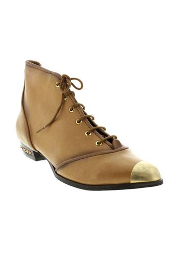 miista chaussures femme de couleur marron