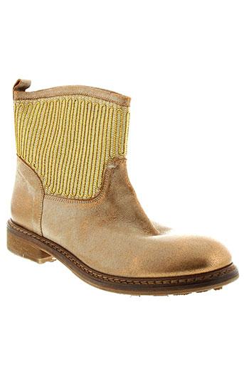 now chaussures femme de couleur jaune