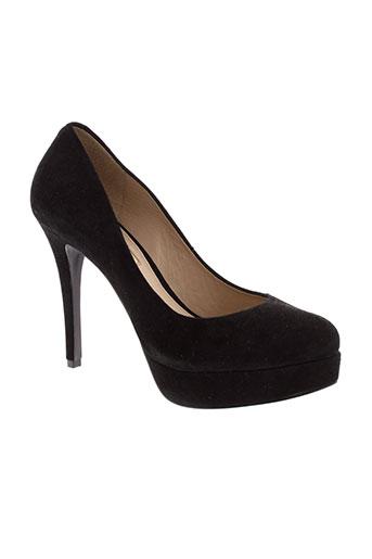 buffalo chaussures femme de couleur noir