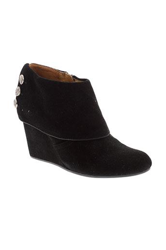 no et name boots femme de couleur noir