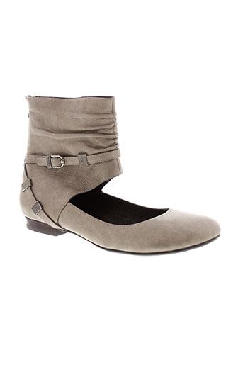 sans interdit chaussures femme de couleur gris