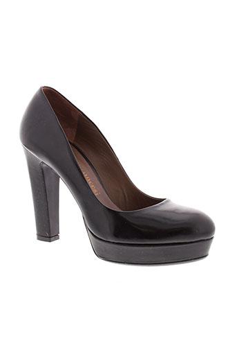 fiorifrancesi escarpins femme de couleur noir