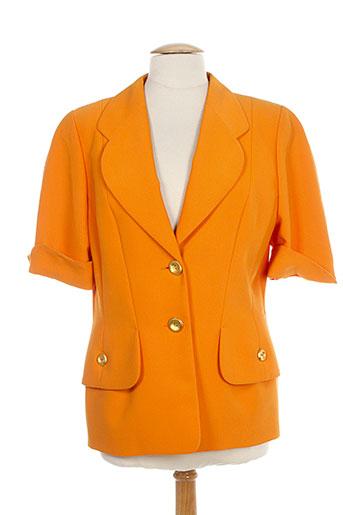 lenvol vestes femme de couleur orange