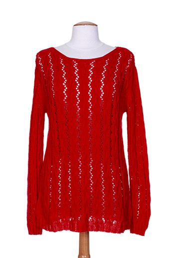 montpunt pulls femme de couleur rouge