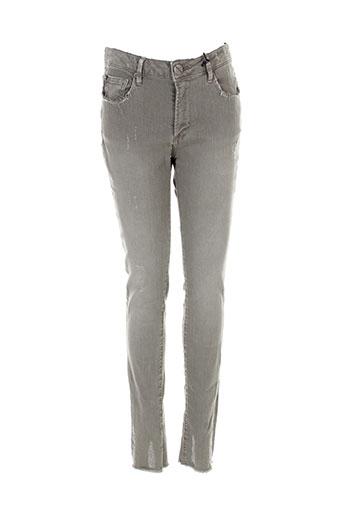 heartless jeans pantalons femme de couleur vert
