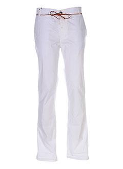 Pantalon casual blanc HOMECORE pour homme