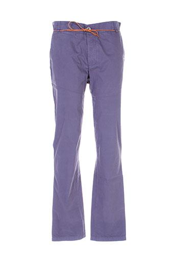 homecore pantalons homme de couleur bleu