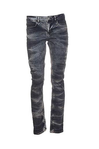 not the same jeans femme de couleur gris
