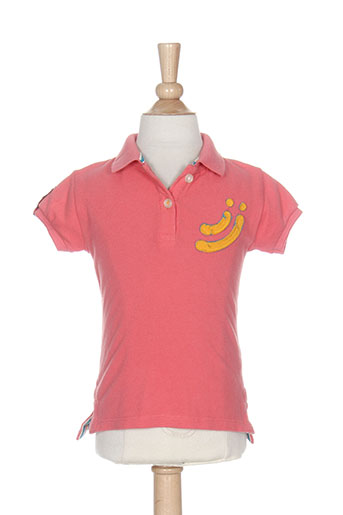jn-joy t-shirts fille de couleur rose