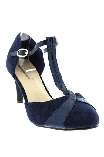 lily et shoes escarpins femme de couleur bleu