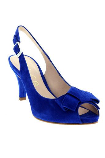 unisa sandales et nu et pieds femme de couleur bleu