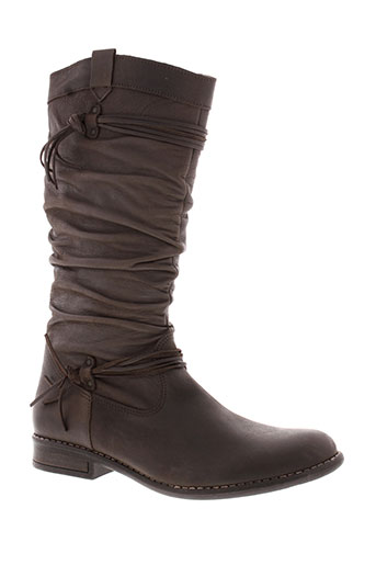 bellamy chaussures fille de couleur marron