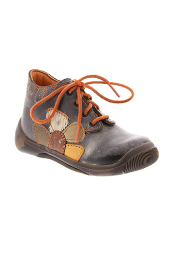 little mary chaussures fille de couleur marron