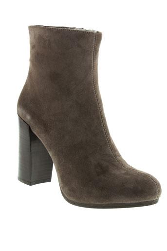 unisa boots femme de couleur marron