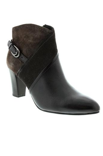 caprice chaussures femme de couleur gris